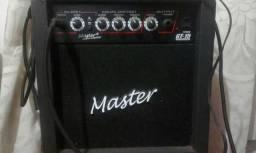 Cubo amplificador Master - GT15 em ótimo estado de conservação