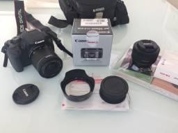 Câmera Canon T5i com 2 lentes