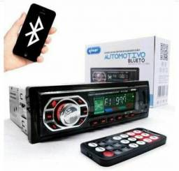 Som Automotivo Bluetooth, Mp3 Player, Usb, Sd, Rádio