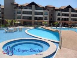 Apartamento à venda no Mediterranee Porto das Dunas nascente com 3 quartos!Lazer completo!