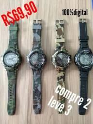 Relógio G-shock R$69,90