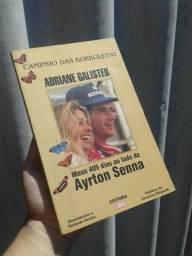 Livro Antigo Ayrton Senna Meus 405 Duas Ao Lado De Ayrton Senna
