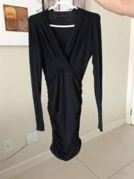 Vestido Preto Calvin Klein