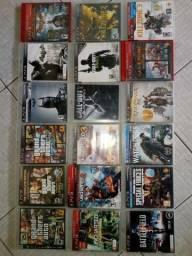 Coleção de jogos originais Playstation 3