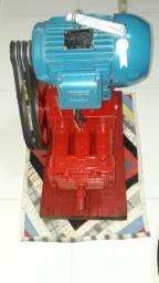 Motor e bomba para lava jato