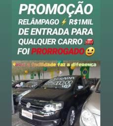 Vw/FOX 1.6 PRIME 2013 COMPLETO COM R$1MIL DE ENTRADA NA SHOWROOM AUTOMÓVEIS