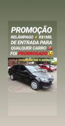 Entrada DE R$1MIL REAIS(VW/VOYAGE 1.0 ITREND 2013) NA SHOWROOM AUTOMÓVEIS