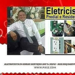 Eletricista/ encanador plantão 24 horas