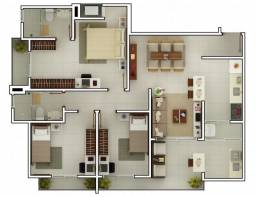 Excelente Apartamento a venda no edifício Imagine, Indaiatuba -SP
