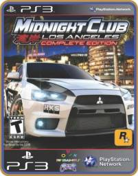 Título do anúncio: Ps3 Midnight Club Los Angeles Complete Edition