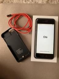 IPhone 6 16GB + Capa Carregadora + Capa Red