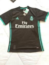 8567be9364 Camisa Real Madrid 17 18 Nova - Versão Jogador - Cristiano Ronaldo