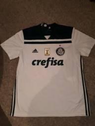 b60c0b7628 Camisa oficial do Palmeiras com patch