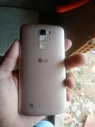 Celular LG 10. Valor 350 pila