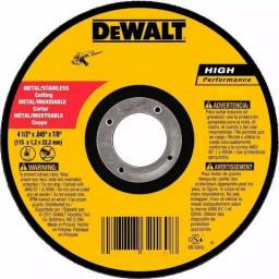 Disco De Corte Inox E Metal 4 1/2 X 1.0 X 7/8 Dewalt
