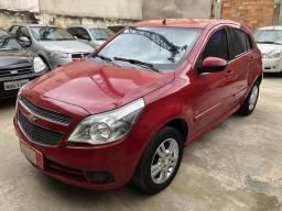 Gm Chevrolet Agile Ltz Completo 1.4 Flex 4 Portas Vermelho 2010 - 2010