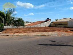 Terreno para alugar, 252 m² por R$ 600,00/mês - Jardim Balneário - Presidente Prudente/SP