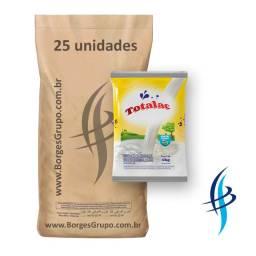 Composto Lácteo Totalac 400g (Fardo c/ 10kg) no Grupo Borges Atacadista