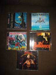 Cds heavy metal,vendo ou troco .