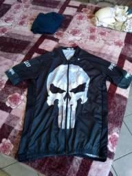 Camiseta punisher ciclista nova