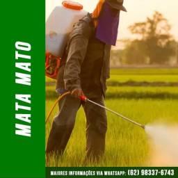 Serviço de Aplicação de Herbicida (Mata Mato)