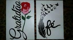 Quadros pintados
