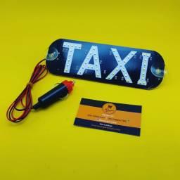 Luminoso Parabrisa ( Taxi ) Led Branco - 12V