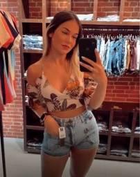 Short jeans - Gata Cabana jeans Atacado