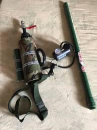 Canhão Lançador - Pesca / PescariaLançador Chumbada/linha