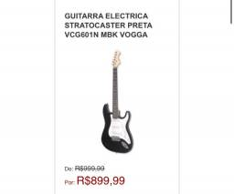 Guitarra Stratocaster / 2 cores disponíveis