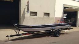 Barcos de Alumínio a pronta entrega - Aracatuba SP