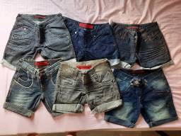 Shorts Jeans ( Lote 6 unidades)