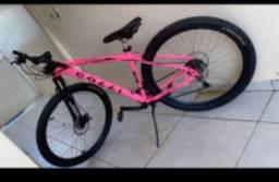 Bicicleta aro 19 revisada recentemente