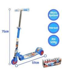 Patinete Infantil Radical 3 Rodas Corrida Divertida Ajustável até 50kg