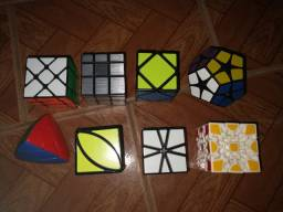 Mini coleção de cubos mágicos