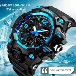 Relógio Militar Prova D'agua!! Original Skmei S-Schock