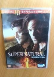 Box Dvd: Sobrenatural (Supernatural) 10ª temporada completa
