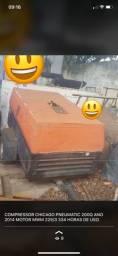 Compressor de ar portátil chicago pneumatic 200q