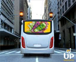Painel Rotativo Scrolling Backlight Busdoor Mídia Propaganda