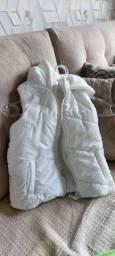 Casaco branco infantil