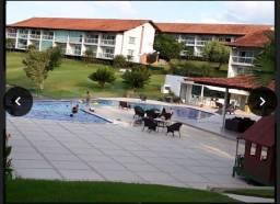 Título do anúncio: LDMF-Vendo flat mobiliado com 2 quartos no Villa Hipica Resort