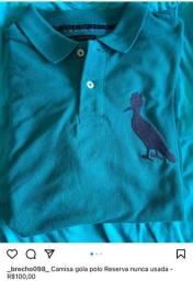 Brechó Promocao camisas camisetas de marca todas originais em bom estado