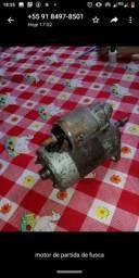 Motor de partida de Fusca