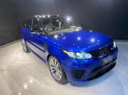 Título do anúncio: Range Rover Sport SVR 5.0 V8 Diesel, 2016, Teto solar Panorâmico, Configuração Linda