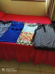 4 vestidos vários modelos