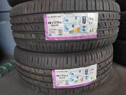 Título do anúncio: Par Com 2 pneus 235/55 R19 Nexen N'fera RU5