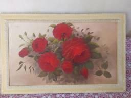 Quadro de Rosas Vermelhas