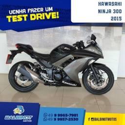 Título do anúncio: Kawasaki Ninja 300 2015 Preta