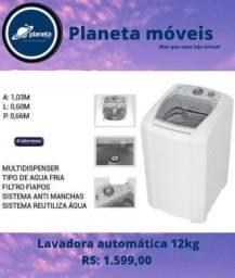 Título do anúncio: Lavadoura automática 12kg!!!