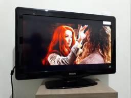 Título do anúncio: TV Philips 32 LCD full hd com suporte parede